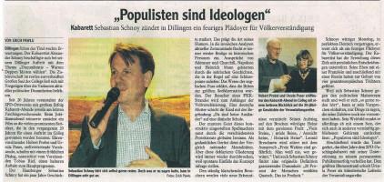 Donau-Zeitung vom 25.02.2020