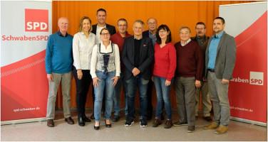 Von links nach rechts:Viktor Merenda, Birgit Spengler, Jürgen Hartshauser, Mirjam Steiner, Markus Stuhler, Wolfgang Konle, Dietmar Bulling, Johann Schlög, Walter Fuchsluger, Bernd Steiner, Tobias Rief